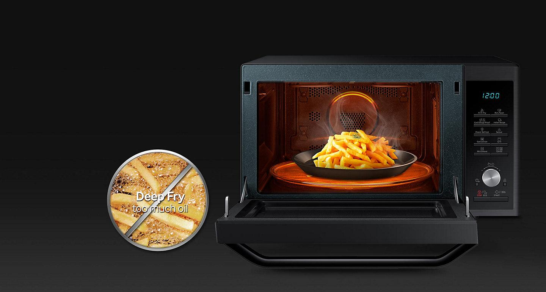 Samsung 28 L Convection Microwave Oven Mc28h5025vs Tl