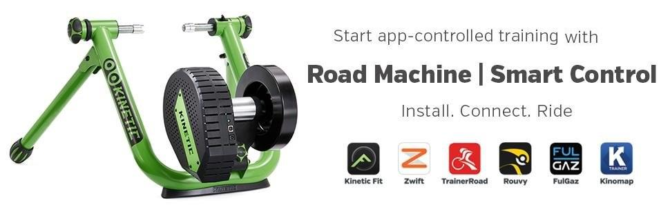 Kinetic Road Machine Smart Control Bike Trainer: Amazon co