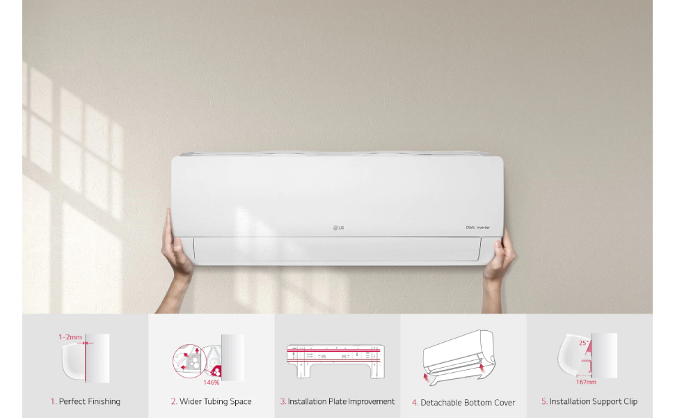 LG 1.5HP Inverter Cool Only Split System Air Conditioner