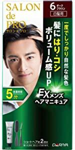 サロン ド プロ EXメンズヘアマニキュア (白髪用) 6ダークブラウン