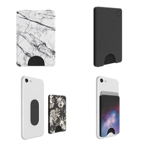 popsockets, popwallet, reattachable, safe, for 5 cards, match your style, no residue