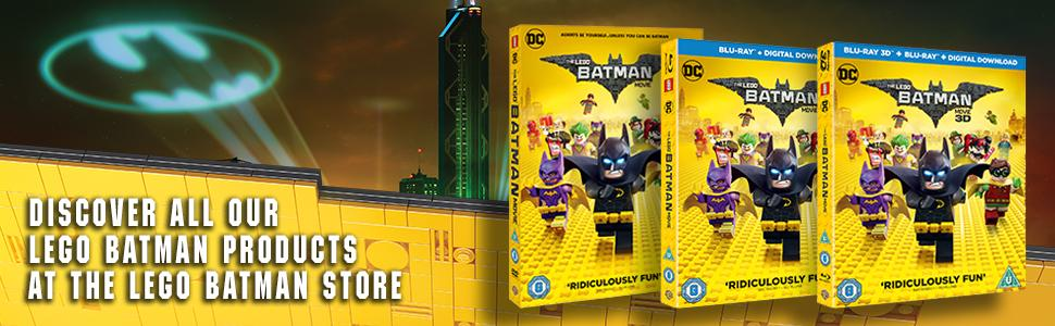 The LEGO Batman Movie DVD + Digital Download 2017: Amazon.co.uk ...