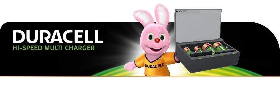 Duracell - Cargador de pilas en 1 hora, 1 unidad