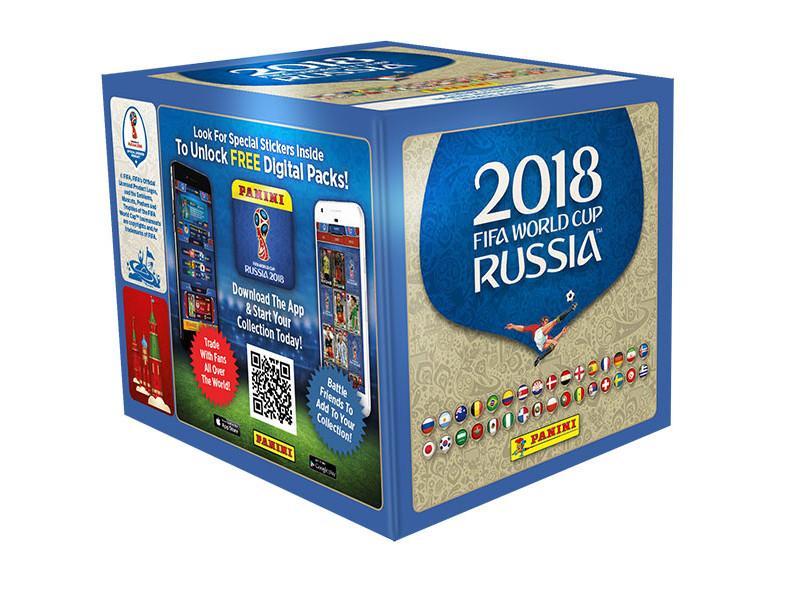 Panini-Mundial Rusia 2018 Caja con 50 Sobres, (003497BOX50): Amazon.es: Juguetes y juegos