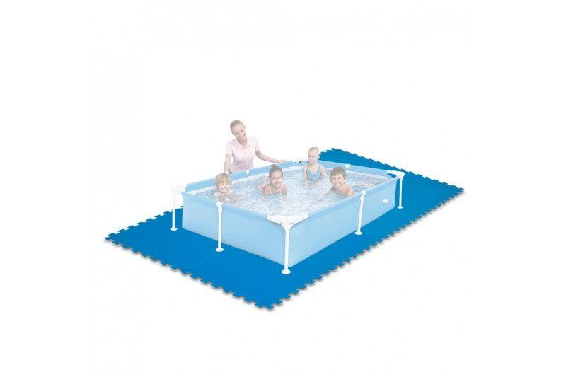 Intex protector suelo intex para piscinas 50x50x1 cm 8 for Protector para piscina