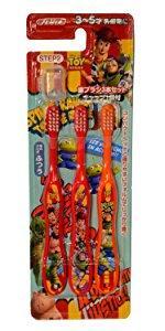 スケーター 歯ブラシ 園児用 (3-5才) 毛の硬さ普通 3本組 トイストーリー 15 ディズニー TB5T