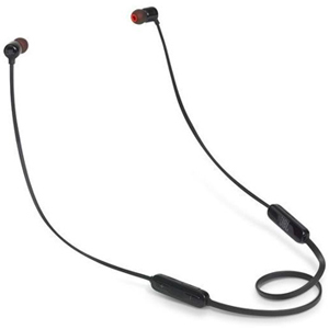 JBL Wireless In Ear Headphones, Black - T-110 BT