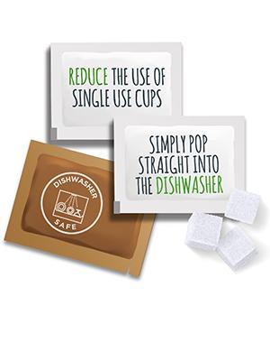 reduce, reuse, recycle, dishwasher safe, reduce single use cups