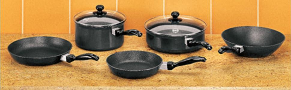 Hawkins Futura Non-Stick Cookware Set - QS5 ec60b01d97