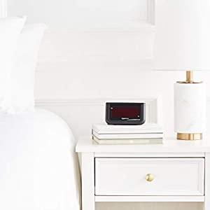 AmazonBasics Digital Alarm Clock with Large 1.4-Inch Display
