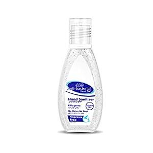 EVA Anti-Bacterialـ Fragrance-Free Hand Sanitizer Gel, 50 Milliliters