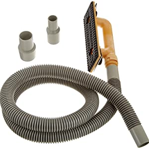 Hyde Tools 09165 Dust-Free Drywall Vacuum Hand Sander with 6-Foot Hose, 6'