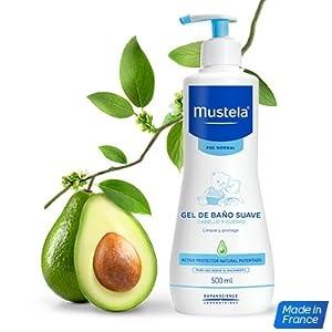 Mustela - Gel dermolimpiador lavante sin jabón cabello y cuerpo, 750 ml: Amazon.es: Belleza