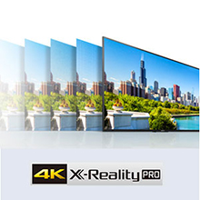 Rediscover Every Detail with 4K X-Reality PRO