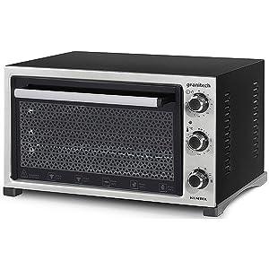 Kumtel Electric Convection Oven, 32 Liter, Black - KF5520
