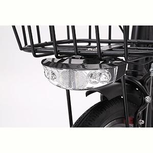 EISAN(エイサン) 折りたたみ電動自転車 SWIFTI20 商品詳細 LEDヘッドライト
