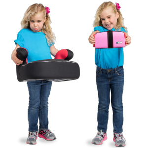 mifold Grab-and-Go Booster Seat and Carry Bag