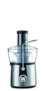 Moulinex Vitae JU200045 - Licuadoras para Verduras y Frutas, 200 W, Velocidad 12.800 rpm, Tapa y Contenedor Pulpa ...
