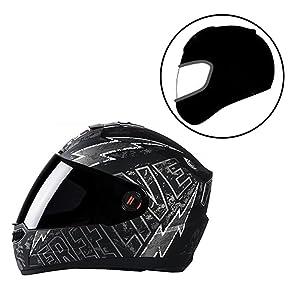 Steelbird Helmet SBA-1 Free Live with Smoke Visor and Matt Finish