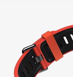 Smartwatch AMAZFIT GPS Reloj inteligente de ajuste increíble para deportes con Bluetooth, Wifi, Dual 512 MB/4GB, cuenta con monitor frecuencia cardí, ...