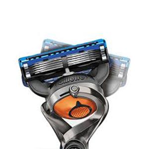Gillette Flexball Pro Glide Gift Pack and Flexball Razor with 4 Flexball Cartridge