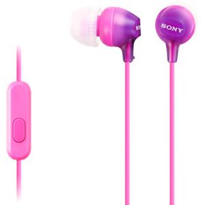 SONY MDREX15APV Fashionable Headphones W/Mic Violet