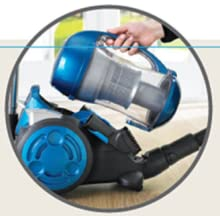 Convenient Dust Canister Cleaning