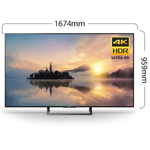 Sony 43 Inch 4K Ultra HD HDR LED Android TV Black