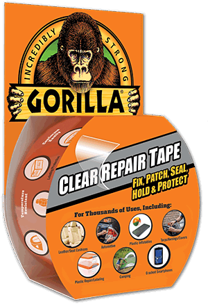 Gorilla Tape 3044701 8 2m Repair Tape With Gloss Finish