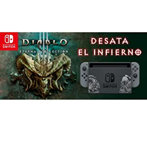 Nintendo Switch - Edición Limitada Diablo III: Nintendo: Amazon.es ...