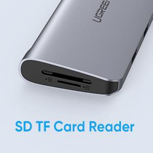 UGREEN USB C Hub 9-in-1 USB Type C to 4K HDMI Multiport Adapter Dock with VGA, Gigabit Ethernet
