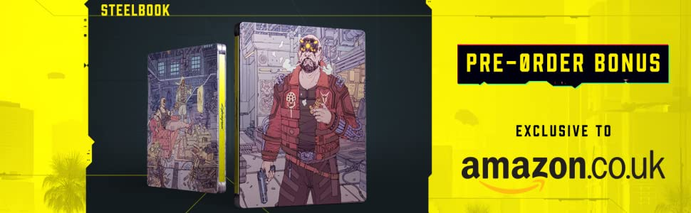 Cyberpunk 2077 with Limited Edition Steelbook (Exclusive to