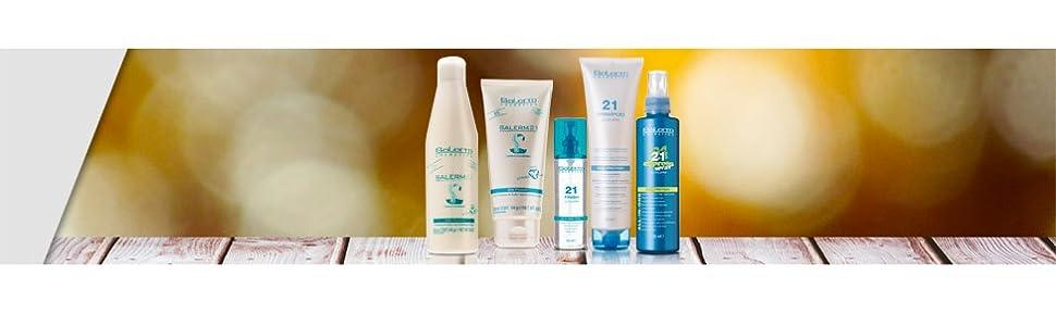 Salerm Cosmetics 21 Silk Protein Leave In Acondicionador, Blanco - 100 ml