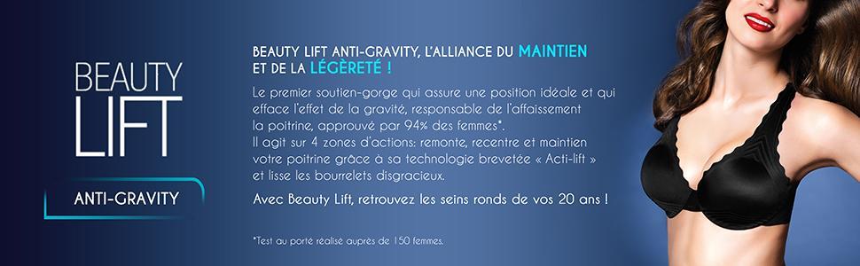 Culotte gainante Dim Femme Uni Beauty Lift