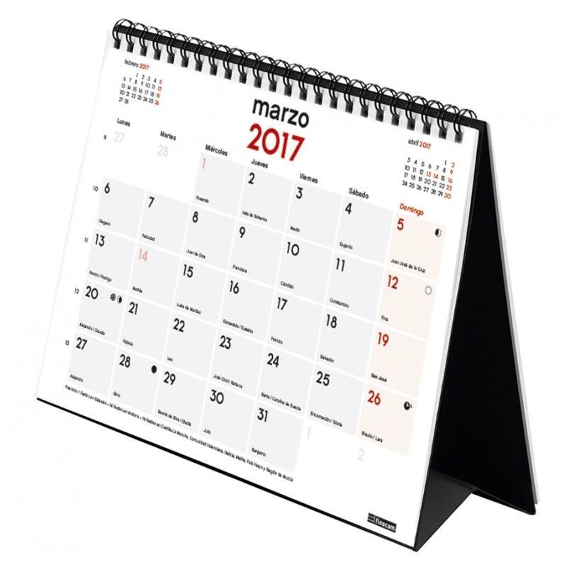 Finocam 214434 - Calendario de sobremesa, castellano, 21 x ...