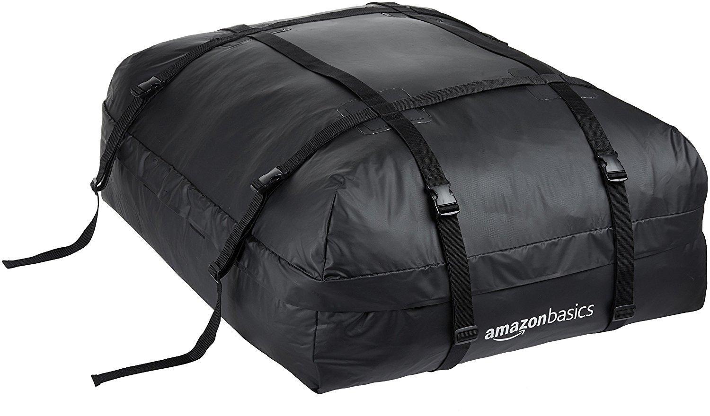 Amazon.com: AmazonBasics Rooftop Cargo Carrier Bag, Black
