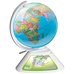 Oregon scientific smart globe discovery sg268 juguete educativo globo interactivo - Globo terraqueo amazon ...