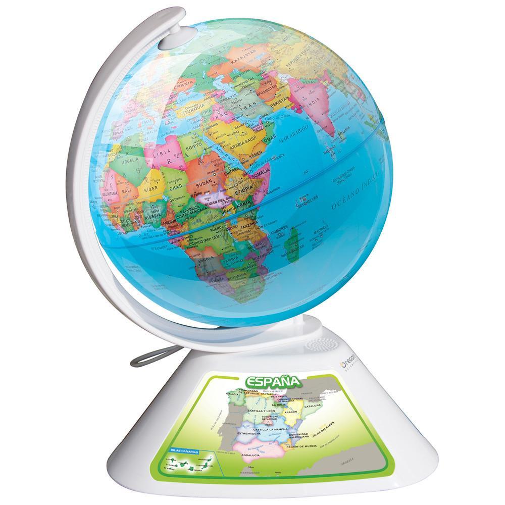 Oregon scientific smart globe discovery sg268 juguete educativo globo interactivo - Globo terraqueo amazon ...
