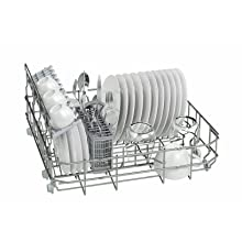 Balay 3VK301BC - Lavavajillas compacto de libre instalación, 6 servicios, 4 programas, clase de eficacia en lavado y secado A, color blanco