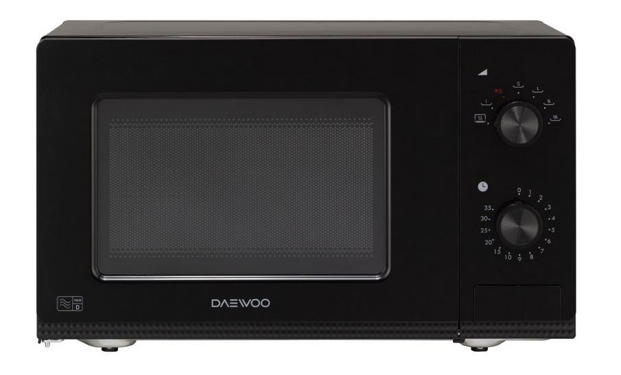 daewoo manual microwave oven 20 litre white. Black Bedroom Furniture Sets. Home Design Ideas