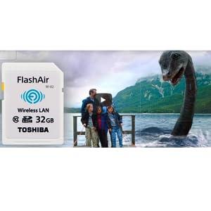 Toshiba FlashAir W-04 - Tarjeta de Memoria (32 GB, Class 10, UHS-I Class 3, 90MB/s Read, 70MB/s Write, con Built-In WiFi) Color Blanco