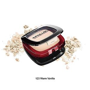 L'Oreal Paris Infallible 24H Compact Powder Foundation - 0.31 oz., 123 Warm Vanilla