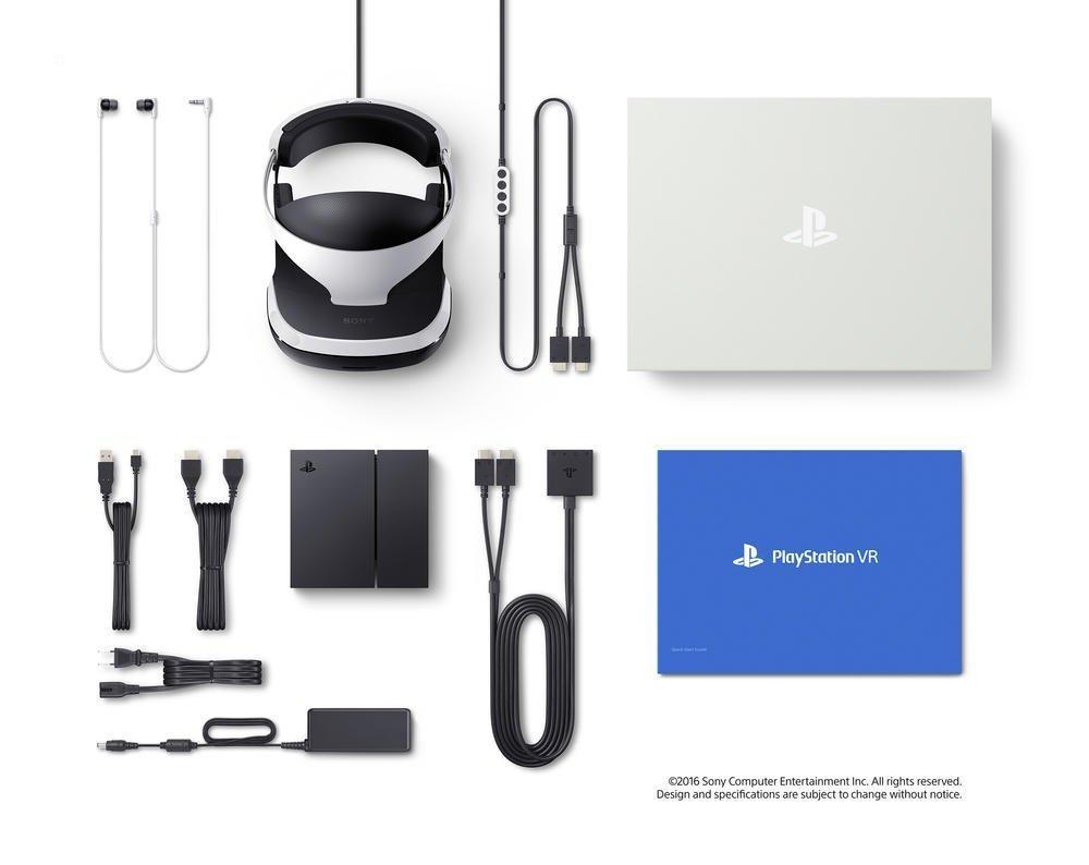 PlayStation VR MK3 + Caméra v2 + VR Worlds