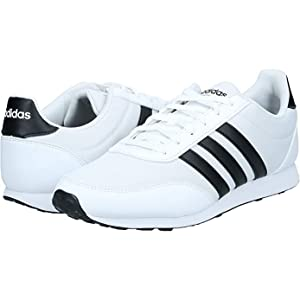 Catedral Terminología Comercialización  adidas V Racer 2.0, Men's Road Running Shoes, White (Ftwr White/Core  Black), 42 EU: Buy Online at Best Price in UAE - Amazon.ae