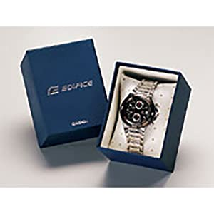 Casio EF-558D-1A For Men-Analog, Dress Watch, Stainless Steel, Quartz