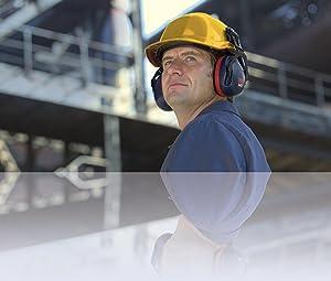 3M PELTOR Optime III Orejeras para casco Negras 34 dB (1