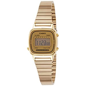 Casio Casual Watch Digital Display Quartz for Women LA670WGA-9D