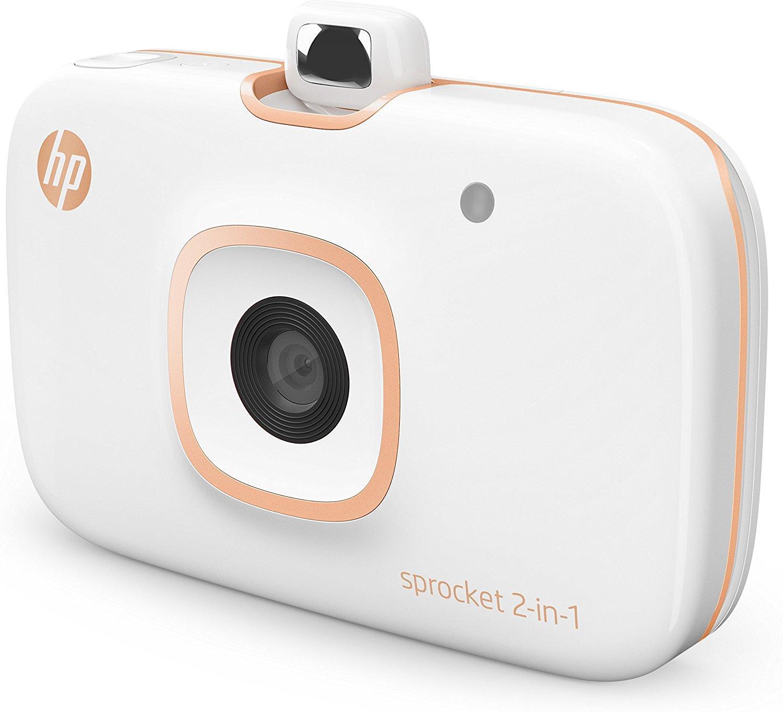 HP Sprocket 2 en 1 - Impresora portátil para smartphone y