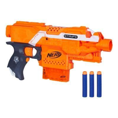 Nerf N-Strike Elite Strife Blaster: Hasbro: Amazon.co.uk ...