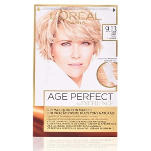 EXCELLENCE Age perfect tinte Rubio Camel Nº 9.13 caja 1 ud ...
